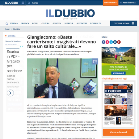 Intervista a Bruno Giangiacomo